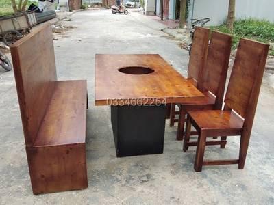 Xưởng sản xuất bàn ghế , quán ăn , nhà hàng , tại hà nội 8