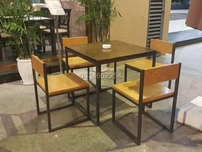 Bàn ghế cafe gỗ , tại hà nội , giá rẻ 4