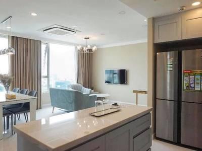 Cho thuê gấp căn hộ Leman Luxury, Q.3, 100m2, 3 phòng ngủ, 2wc, nội thất đầy đủ, lầu cao, view đẹp 4