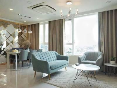 Cho thuê gấp căn hộ Leman Luxury, Q.3, 100m2, 3 phòng ngủ, 2wc, nội thất đầy đủ, lầu cao, view đẹp 8
