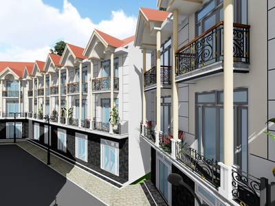Bán dự án nhà liên kế lớn nhất Đà Lạt - cách trung tâm chỉ 3km - giá cho nhà đầu tư cấp 1 0