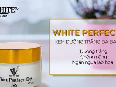 Top White Perfect D3 Dưỡng Trắng Da Chống Lão Hóa Ngày Tốt 0