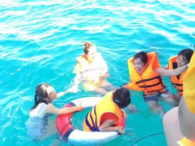 Du lịch biển đảo câu mực nha trang 5