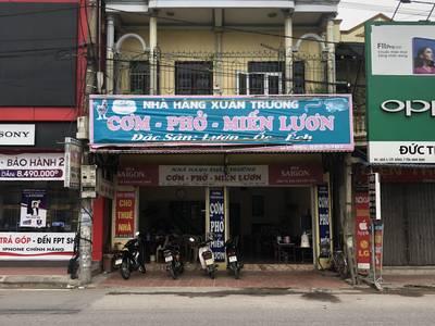Nhà mặt đường ngã ba Cát Đằng Nam Định,100m2, 3 tầng, chính chủ cho thuê lâu dài 6