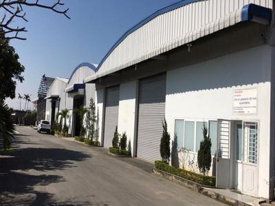 Cho thuê kho xưởng 550m2 cực đẹp tại đường 208 An Đồng 2