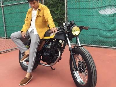 Bán xe moto cafe racer siêu chất 1