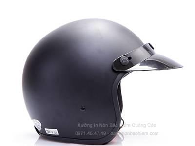 Nón bảo hiểm quảng cáo moto 3/4   BF3-04 1