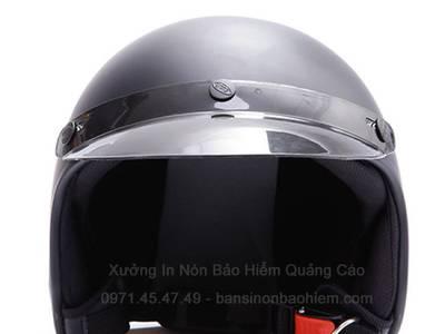 Nón bảo hiểm quảng cáo moto 3/4   BF3-04 2