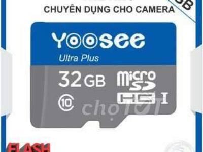 Thẻ nhớ YOOSEE 32GB Chuyên dụng cho Camera 0