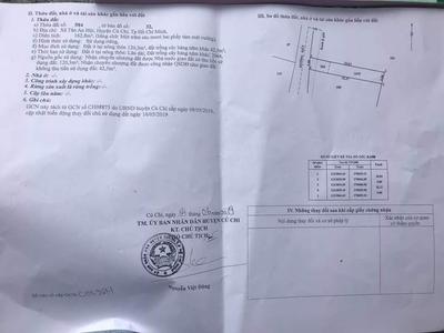 Bán miếng đất đẹp đường Ngô Thị Phện, Tân An Hội, Củ Chi, Hồ Chí Minh. 0