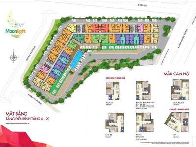 Bán một số căn Moonlight Boulevard, mặt tiền giá tốt cho KH ở đầu tư. L/h 0948.790.588 6