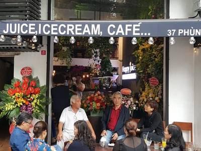 Sang Nhượng quán cafe, nước ép tại phố Bích Họa, 37 Phùng Hưng, Hoàn Kiếm 0