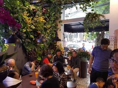 Sang Nhượng quán cafe, nước ép tại phố Bích Họa, 37 Phùng Hưng, Hoàn Kiếm 2