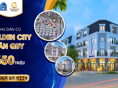 Mở bán giai đoạn đầu tư dự án Golden City, siêu ưu đãi 8