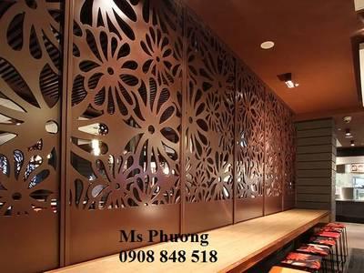Mang lại vẻ đẹp hiện đại cho không gian nhà hàng, cửa hàng, quán cafe với thiết kế vách ngăn cnc đẹp 18