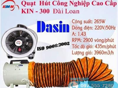 Ống gió quạt hút Dasin KIN-300 1