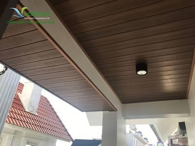 Tấm ốp trần tường, tấm ốp gỗ nhựa dạng phẳng- GỖ NHỰA  ECOWOOD 2