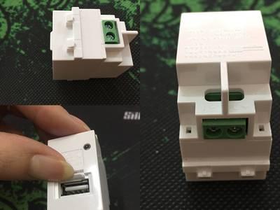 Nhân USB sạc điện thoại lắp âm tường, nhân HDMI, nhân VGA âm tường hàng chính hãng giá tốt 0