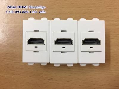 Nhân USB sạc điện thoại lắp âm tường, nhân HDMI, nhân VGA âm tường hàng chính hãng giá tốt 1