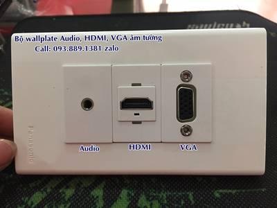 Nhân USB sạc điện thoại lắp âm tường, nhân HDMI, nhân VGA âm tường hàng chính hãng giá tốt 7