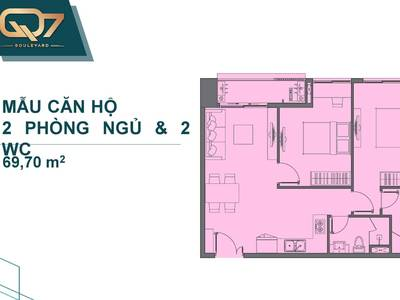 Dự án Căn Hộ Cao Cấp Q7 Boulevard mặt tiền Nguyễn Lương Bằng Gía dự kiến 40tr/m2 7