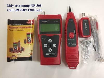 Máy test mạng Noyafa NF-8601S hàng nhập khẩu, máy test switch POE Noyafa NF-468PT chính hãng giá tốt 5