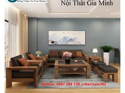 Sofa gỗ cao cấp   mẫu bàn ghế sofa gỗ đẹp. Nội Thất GMHOMES 12