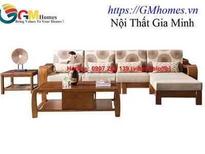 Sofa gỗ cao cấp   mẫu bàn ghế sofa gỗ đẹp. Nội Thất GMHOMES 14