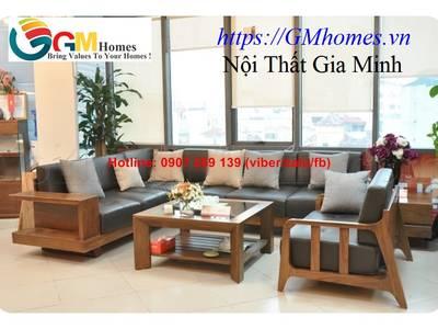 Sofa gỗ cao cấp   mẫu bàn ghế sofa gỗ đẹp. Nội Thất GMHOMES 15