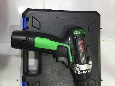 Bộ máy khoan vặn vít không dây Aotuo 12V 0