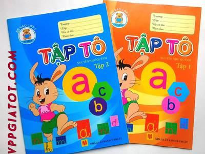 Chuyên cung cấp vở tô màu, tô chữ trẻ em giá buôn Made in Viet Nam 2