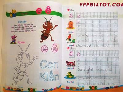 Chuyên cung cấp vở tô màu, tô chữ trẻ em giá buôn Made in Viet Nam 3