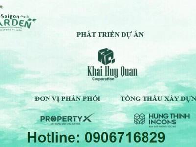 Biệt thự Vườn Hưng Thịnh Quận 9 Saigon Garden Riverside Village 0