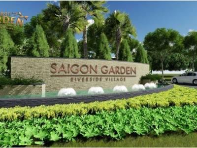Biệt thự Vườn Hưng Thịnh Quận 9 Saigon Garden Riverside Village 1