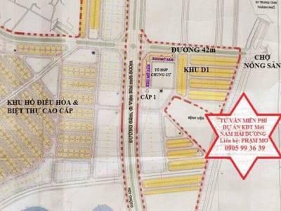 Bán đất giá đầu tư Khu Nam Hải Dương - BV Nhi mới - Đại học Hải Dương - Viện Thần Kinh 2