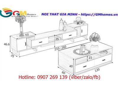 Kệ tivi hiện đại, kệ ti vi phòng khách đẹp giá tại xưởng GMHOMES 7