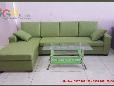 Sofa vải hiện đại, sofa vải tphcm. Nội Thất GMHOMES 3