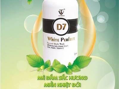 Sữa tắm trắng da toàn thân Top White D7 1