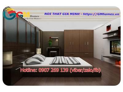 Bộ giường ngủ hiện đại. Nội Thất GMHOMES 1