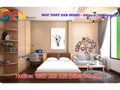 Bộ giường ngủ hiện đại. Nội Thất GMHOMES 12