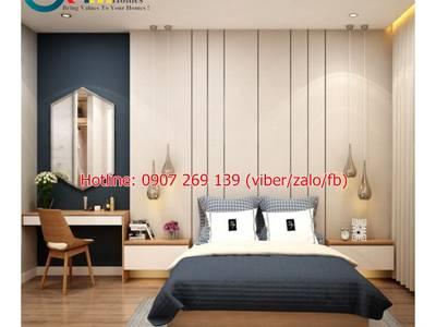 Bộ giường ngủ hiện đại. Nội Thất GMHOMES 14