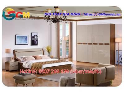 Bộ giường ngủ hiện đại. Nội Thất GMHOMES 15