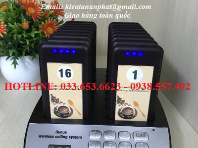 Bộ báo rung gọi khách giá rẻ cho quán cafe tại Lâm Đồng 0