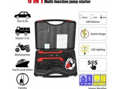 26,000 mAh Bình kích ô tô [Jump Starter Booster for car] kiêm pin sạc 6