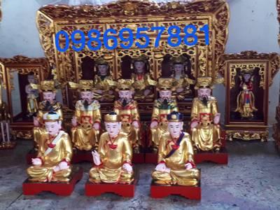 Cssx đồ thờ hùng vũ chuyên làm mới phục chế đồ thờ tượng phật 3