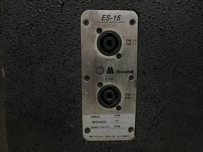 LOA tây ban nha AA.Sound ES-15 bát 40 tép kèn cực hiếm có 6