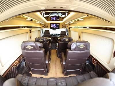 Ford Transit Limousine -10 chỗ cao cấp VIP Giá Tốt Nhất HCM 6