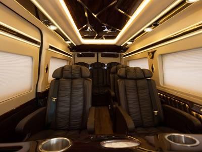 Ford Transit Limousine -10 chỗ cao cấp VIP Giá Tốt Nhất HCM 7