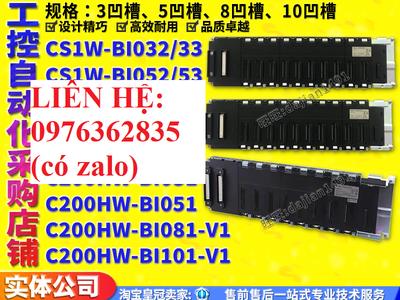Chuyên cung cấp Bảng nối đa năng mở rộng CS1W-BI032/BI052/BI082/BI033/BI053/BI0083/BI102/BI103/BI081 0