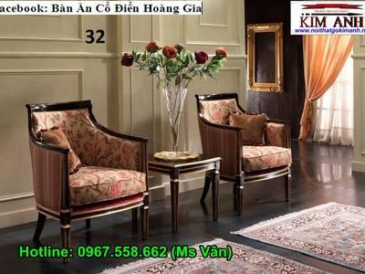 Tuyển chọn những mẫu bàn ghế phòng ngủ tân cổ điển đẹp 3